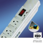 7-outlet 1 way Surge Protection American Power Strip