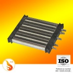 ceramic ptc heater with frame and thermostat