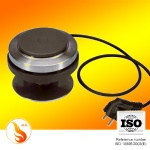 Electric heating plate for chafing dish set